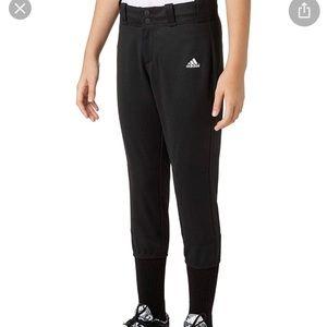 Adidas Climalite black softball pants size small